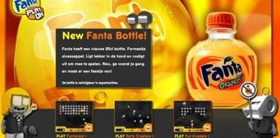 De Fanta actiesite (klik op de afbeelding)