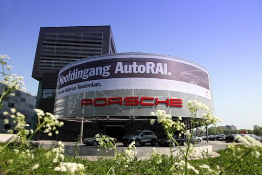 Porsche Centrum Amsterdam Hoofdingang AutoRAI Door Freek Van De Wijdeven