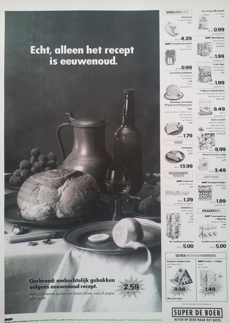 Super-de-Boer-advertentie