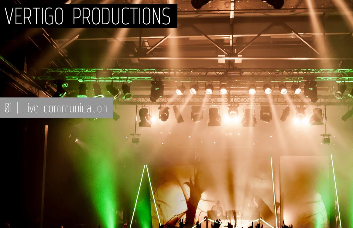 Vertigo Productions evenementenorganisatie