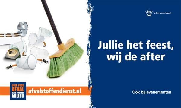 Afvalstoffendienst 's-Hertogenbosch evenementen