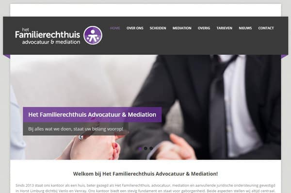 Familierechthuis Website
